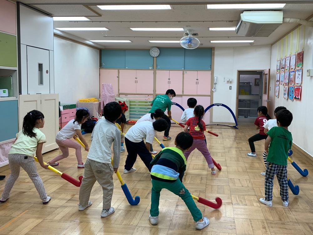 品川区オリンピック競技体験事業/西五反田保育園