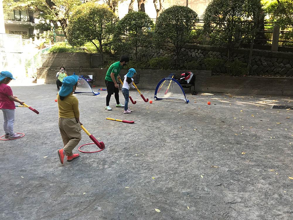 品川区オリンピック競技体験事業/東五反田保育園